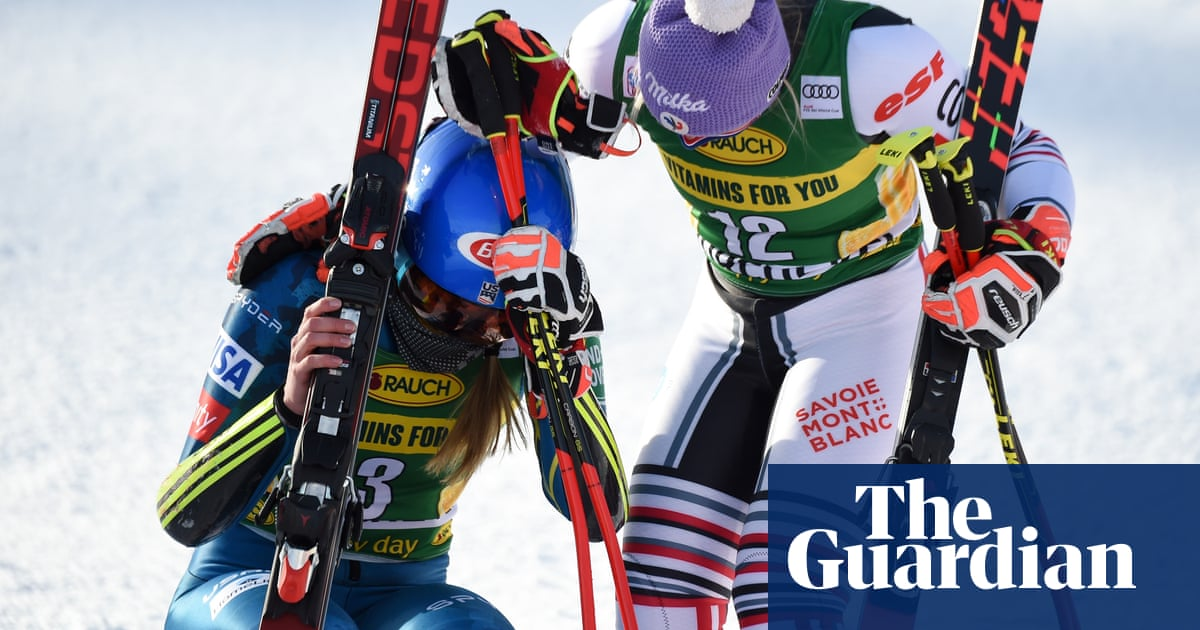 I didnt ski alone: Shiffrin wins first World Cup race since fathers death
