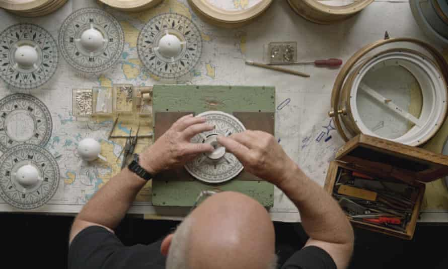 Compass making at B Cooke and Son Ltd in Hull