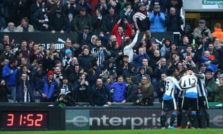 Newcastle United's St James' Park has the biggest family enclosure in Europe.