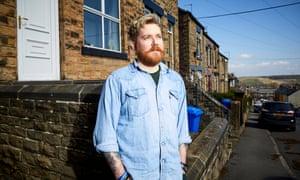 Brett Chapman in Sheffield.