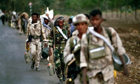 All Eritrean are conscripted into the army - a national service that can last indefinitely.