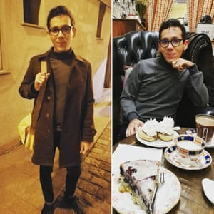 Self made turtle neck jumper and coat, from sewer Mehedi Sarri's instagram ms.sew.