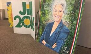 Jill Stein placard