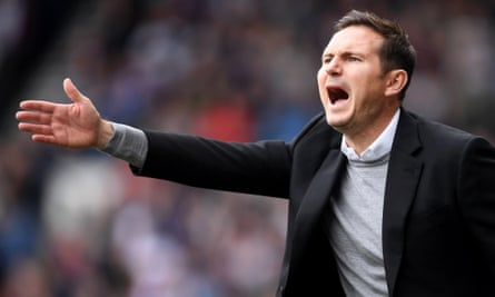 Frank Lampard's elevation at Chelsea would represent a change of tack for the club.