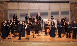 the Feinstein Ensemble and London Bach Singers performing Bach's Christmas Oratorio at Kings Place.