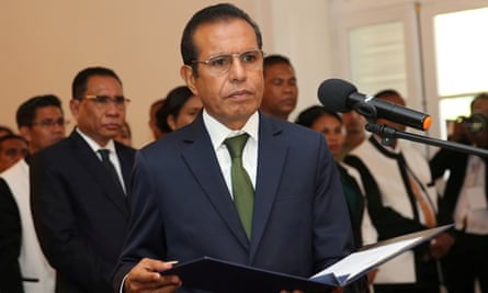 Taur Matan Ruak has sent a letter of resignation after his coalition failed to pass Timor-Leste's budget.