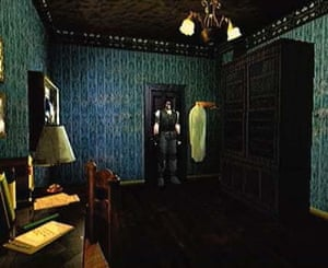 Exploring a big house … Resident Evil.