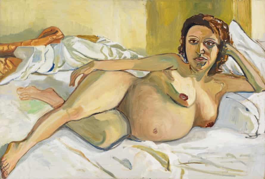 Pregnant Maria, 1964, byt Alice Neel
