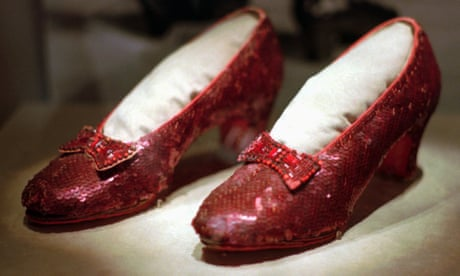 designer fashion e0235 db67f Judy Garlands stolen ruby slippers from Wizard of Oz reappear after 13  years The shoes, considered one of the most prized pieces of film  memorabilia, ...