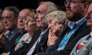 The audience at Philip Hammond's speech on Monday