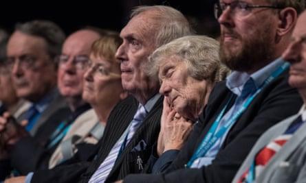 The audience at Philip Hammond's speech on Monday