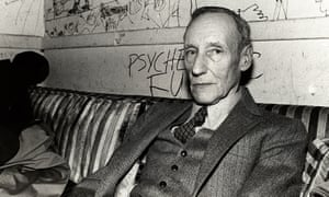 William S Burroughs, pictured in 1981.