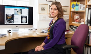 Neuroscientist Sarah-Jayne Blakemore photographed at her office at UCL London.