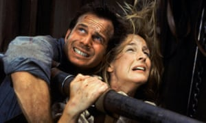 Bill Paxton and Helen Hunt in 1996 hit Twister.