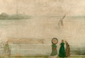 Battersea Reach from Lindsey Houses, 1864-71 by James McNeill Whistler.