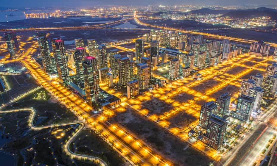 The future – or the nearest thing to it – Songdo in South Korea.