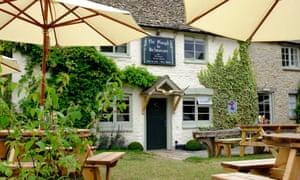 Garden sanctuary: the Plough Inn