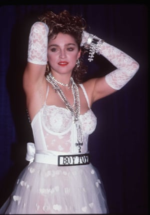 After a performance at the 1984 MTV Video Awards.