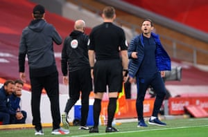 Frank Lampard shows his tough side at Liverpool.
