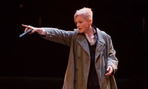 Maxine Peake as Hamlet at the Royal Exchange Manchester theatre.