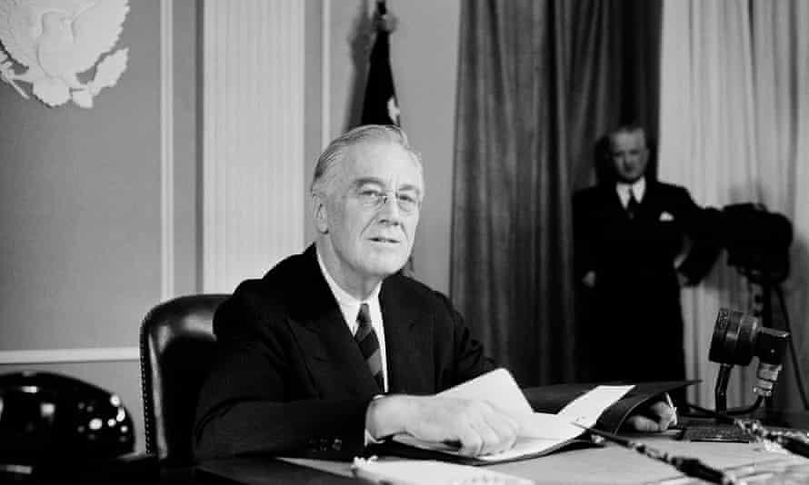 Roosevelt in 1944.