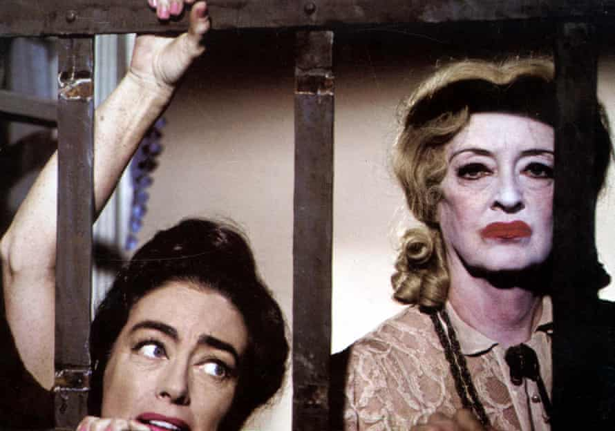 Bette Davis with Joan Crawford in What Ever Happened to Baby Jane?