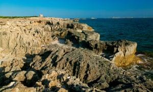 Punta De Ses Portes, Ibiza, Balearic Islands, Spain
