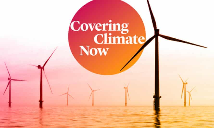 The media organizations involved in Covering Climate Now have a combined reach of close to two billion people. Photograph: Covering Climate Now