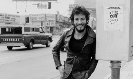 'A joyous, affirmative force': Bruce Springsteen on Sunset Strip, Los Angeles, January 1975