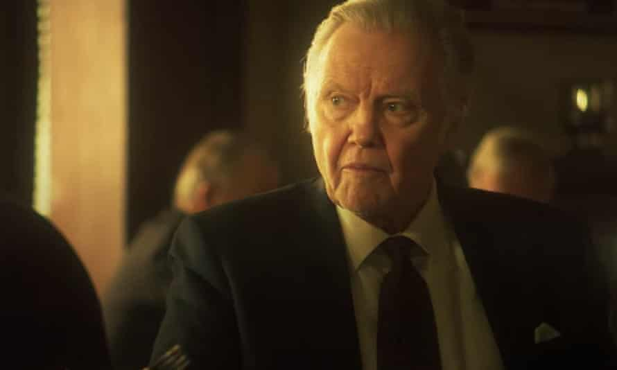 Jon Voight in Roe v Wade, a film with dialogue as formless as a bot's writing.