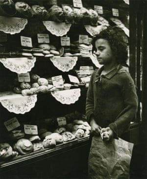An undated photograph of poverty in the UK by Edith Tudor-Hart, who escaped from Austria in 1933 after being persectuted for her communist sympathies and Jewish background.