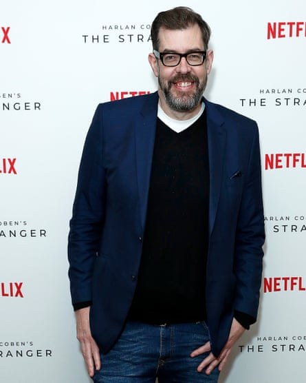 'Pre-ordering exceptionally well' … Richard Osman.