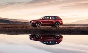 Reflected glory: the Bentley Bentayga