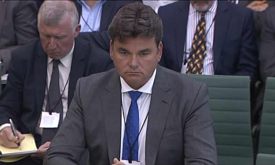 Dominic Chappell gives evidence to the business, skills and innovation parliamentary select committee about the collapse of BHS