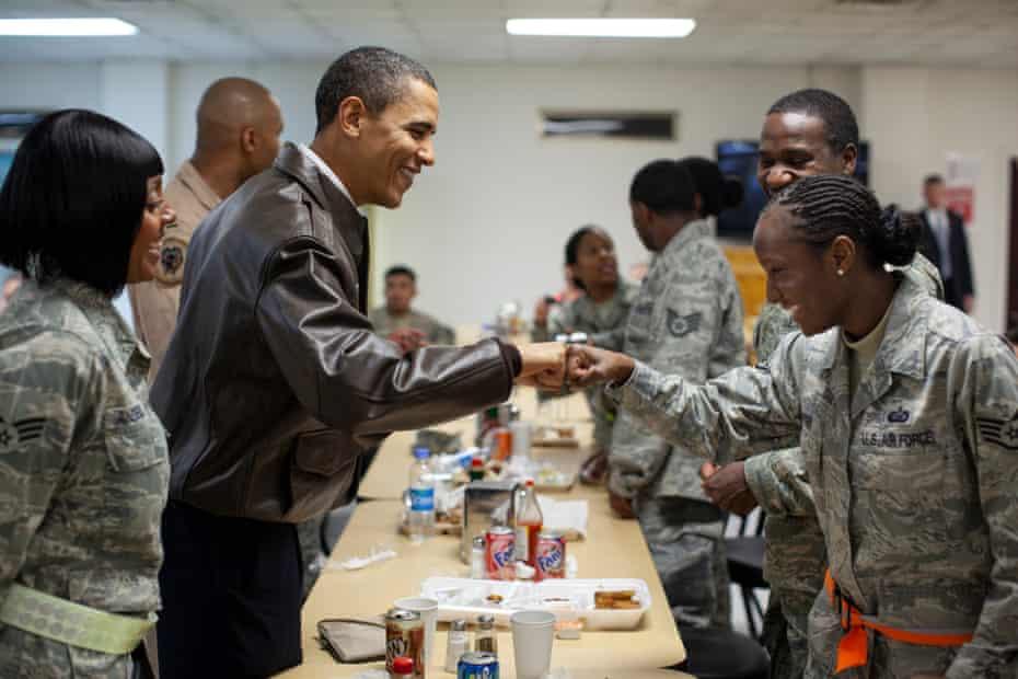 President Barack Obama in Afghanistan in 2010.