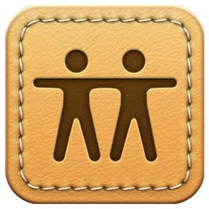 Find My Friends app logo.
