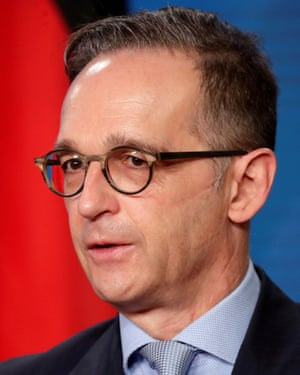The German foreign minister, Heiko Maas.