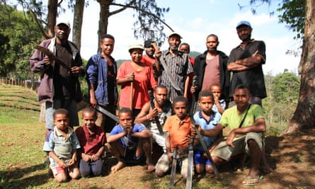 The Western Highlands village of Wapena was attacked by a neighbouring tribe during the 2017 Papua New Guinea national election, leading to more than 35 homes being destroyed.