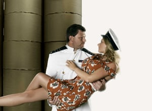 James Wade and wife Sammi for An Officer and a Gentleman for August.