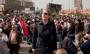 'Awesome personal bravery': Marie Colvin in Tahrir Square, Egypt, February 2011