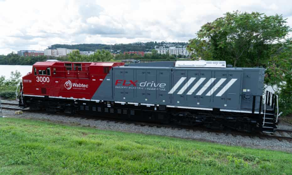 The train, known as the FLXdrive battery-electric locomotive, underwent successful trials in California earlier this year where it was found to have cut fuel consumption by 11%.