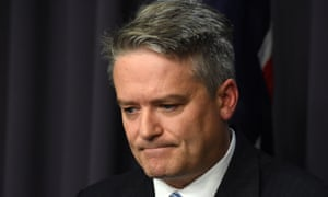 The finance minister, Mathias Cormann, says personal tax cuts will be legislated as soon as possible but they cannot be done administratively.