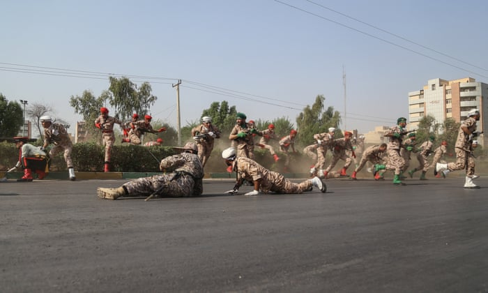 Terrorists kill Iranian children and soldiers in military