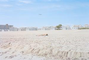 Far Rockaway beach is being reconstructed after Hurricane Sandy