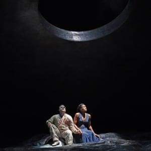La Monnaie's Aida with Aida with Gaston Rivero and Adina Aaron