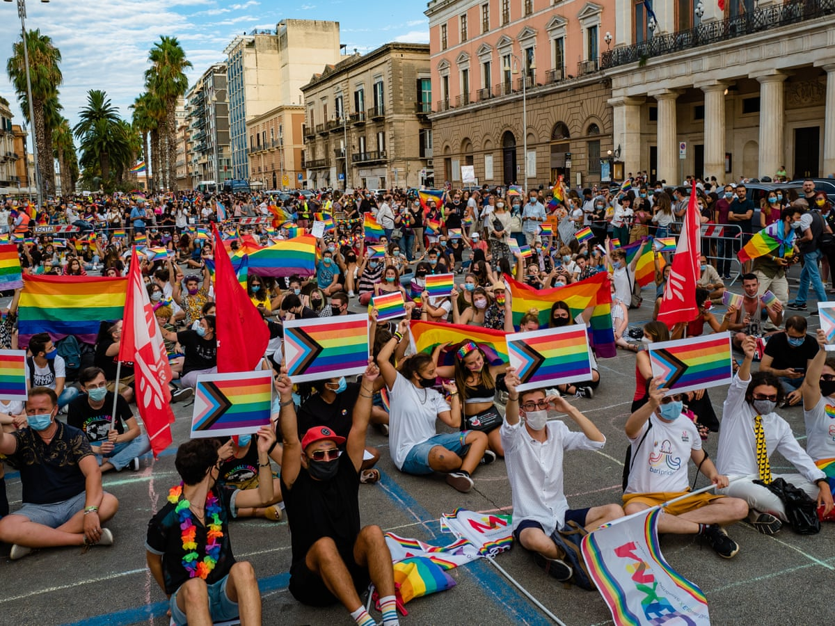 We're living in fear': LGBT people in Italy pin hopes on new law | Italy |  The Guardian
