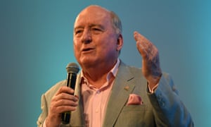 Radio broadcaster Alan Jones