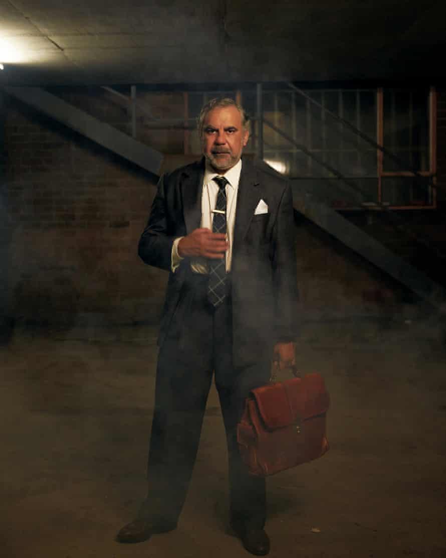 Wayne Blair stars in Death of a Salesman.