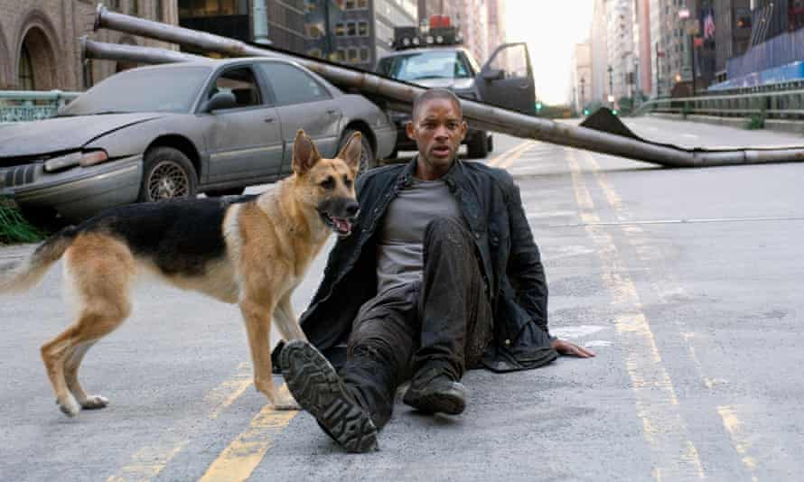 Will Smith in I Am Legend. 'In truth, it is very hard to find any movie at all where the vaccine is the bad guy.'