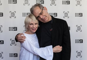Jill Bilcock with longtime collaborator Richard Lowenstein at the world premiere of Jill Bilcock: Dancing the Invisible. Photograph: Sia Duff